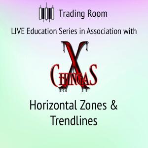 Horizontal Zones & Trend lines - Trading Room