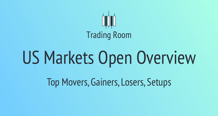 US Markets Open Overview by Trading Room